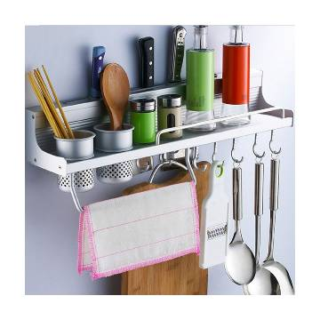 Kitchen Rack Wall Mounted Kitchen Shelf Storage Holder Rack 60cm