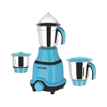 Disnie Blue Bird 3 In 1 Mixer Grinder and Blender - 750W - Blue