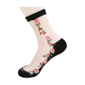 Spring and Summer Thin Section Cotton Short Stockings Womens Socks