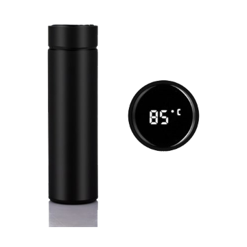 Thermal Water Flask - 500ml - Black - BISF001