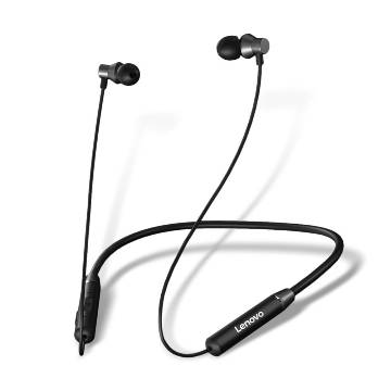 Lenovo HE05 Bluetooth Neckband Earphone - Black