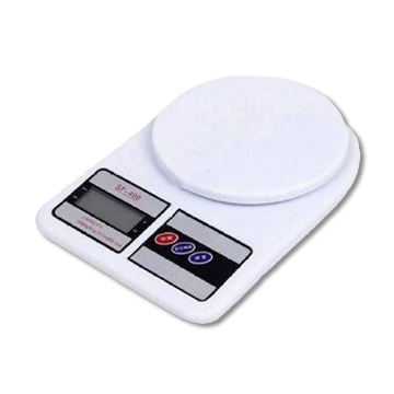 Digital Kitchen Scale White