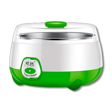 Automatic Stainless Steel Doi Maker - Green and Silver