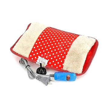 Electric Hot Water Bag - Red