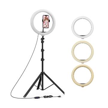 LED Ring Light Tripod Set - 10 Inches