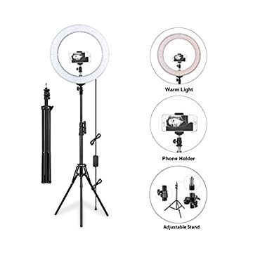 Selfie Ring Light With Tripod - 10 inch