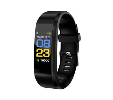Fitness Band Heart Rate Monitor Blood Pressure Monitor Color Screen Activity