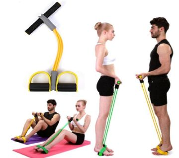 Fitness Sit-ups Equipment for Home Exercise - Multicolour
