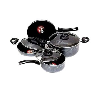 Kiam Non-Stick 7 Pcs Cookware Set