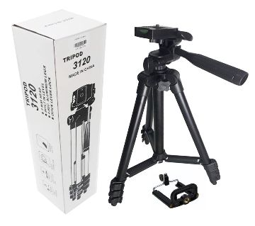 3120 Aluminum Alloy Tripod For Camera & Mobile