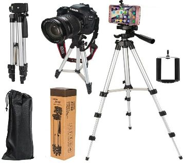 Tripod 3110/ 40.2 Inch Portable Camera and Mobile Stand