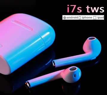 i7s TWS Mini Wireless Bluetooth Earphone Stereo Earbud Headset With Charging Box Mic For iPhone Android All Smart Phone