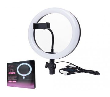 12 inch Selfie Ring Light with Tripod Stand & Cell Phone Holder for Live Stream/Makeup