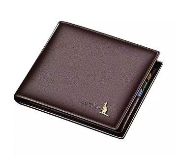 Chocolate color Man Wallet Money Bag