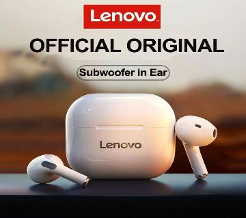Lenovo LP40 TWS Wireless White Earbuds