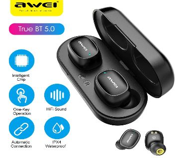 Awei T13 Intelligent BT Earphone with Charging Case