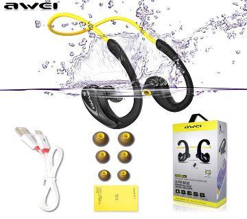 Awei A880 BL Wireless Sports Stereo Earphone