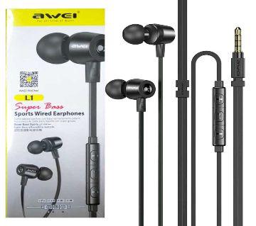 Awei L1 Super Bass Sports Wired Earphones