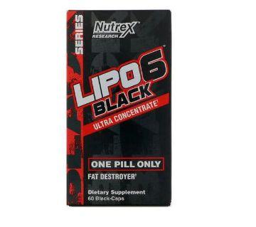 Lipo 6 Black Ultra Concentrate 60 Capsules: USA