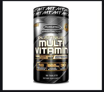 Platinum Multivitamin Muscletech- 90 Tablets: USA