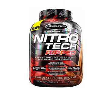 Nitro Tech Ripped, Ultimate Protein + Weight Loss -4 Lbs-USA