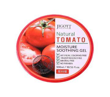 JIGOTT Natural Tomato Moisture Soothing Gel 300 ml Korea