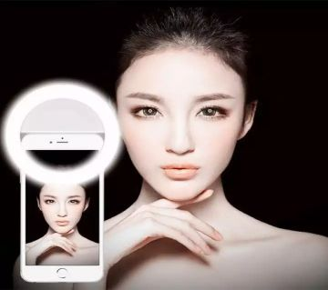 Selfie Ring Light Portable Flash Led Camera Phone Enhancing Photography for Smartphone