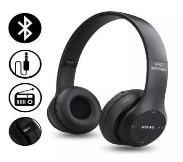 P47 Headband Foldable Stereo Bluetooth Headphones Wireless Headset