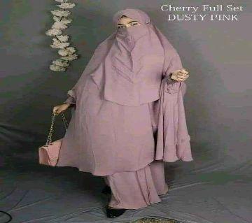 Original Cherry Fabric Khimar & Skirt Collection
