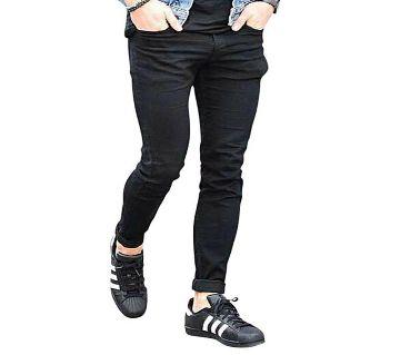 Slim Fit Stachable Denim Jeans Pant