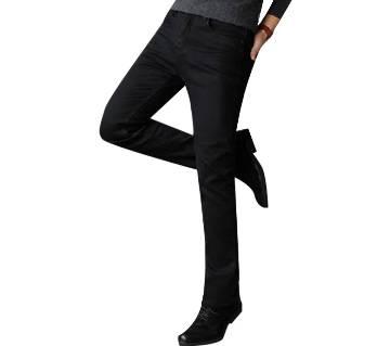 Slim Fit Black Jeans Pant