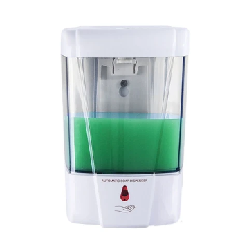 700ml Automatic Soap Dispenser Wall-Mounted IR Sensor Touch-free Liquid Soap Lotion Dispenser Container