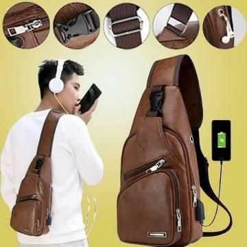 Haodier Unisex Crossbody Fashion Backpack