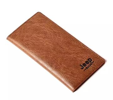 Jeep Long wallet Card Holder for Men and Women