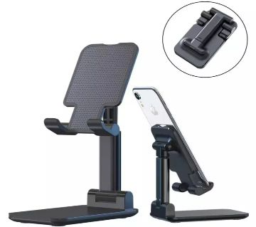 Adjustable Folding desktop mobile & tab Stand- Phone Holder (Liftable)