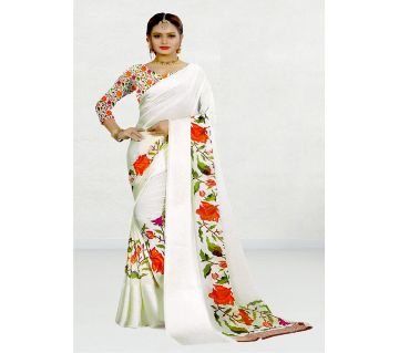 Indian Georgette Sharee With Running Blouse Piece For Womens By Sells Sharee&Bedding.