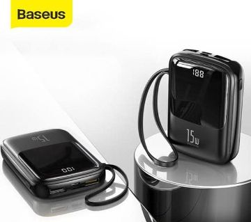 Baseus Q POW Type C Power Bank Digital Display 10000mAh