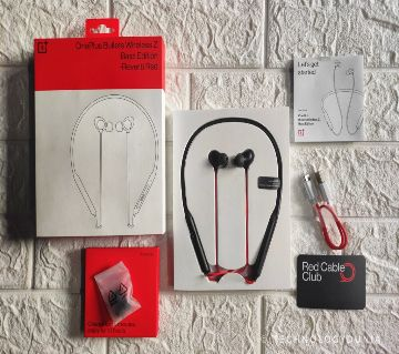 OnePlus Bullets Wireless Z (Bass Edition) Reverb Red