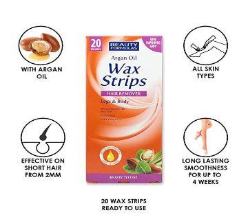 Vitamin E Wax Strips Hair Remover - 20 pcs UK