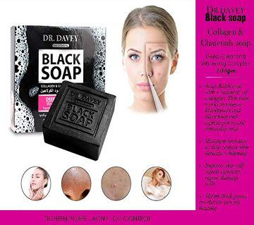 DR.DAVEY Black Soap - 100gm Thailand