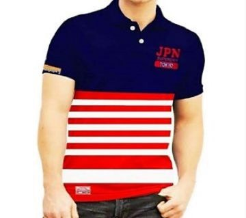 Half Sleeve Cotton Polo Shirt For Men