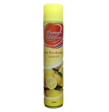 Summer Blossom Air Freshener (Lemon, 320 ML) - 1 Pcs