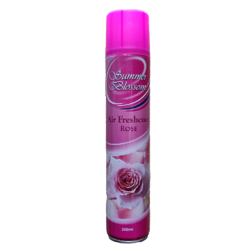 Summer Blossom Air Freshener (Rose, 320 ML) - 1 Pcs