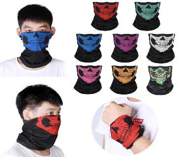 Cycling Ski Skull Handkerchief Half Face Bandana Ghost Scarf