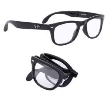 White Folding Sunglasses for Men