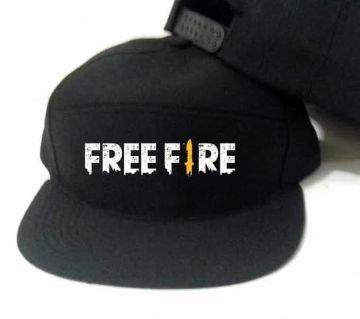 FREE FIRE BLACK COTTON CAP