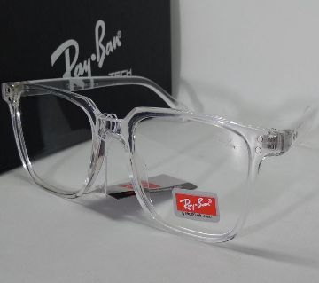 Ray-Ban White Glass & Fream Sunslass for Man