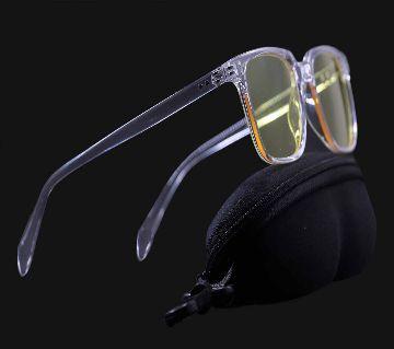Pattinson Transparent Frame Yellow Lense