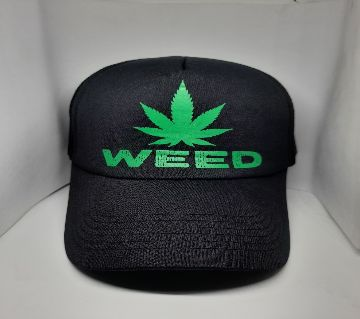 FEELWEED ROUND NET CAP FOR MEN