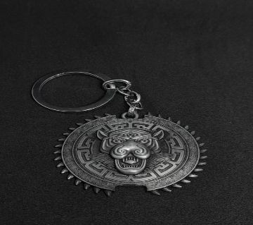 Full Metal Car Key Chain with Snap Hook Simplicity Design Split Ring Key Chain